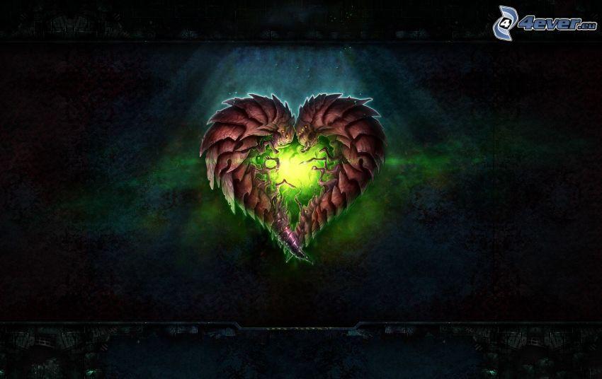 StarCraft 2, heart