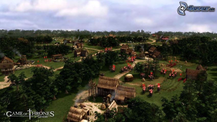 A Game of Thrones, Genesis