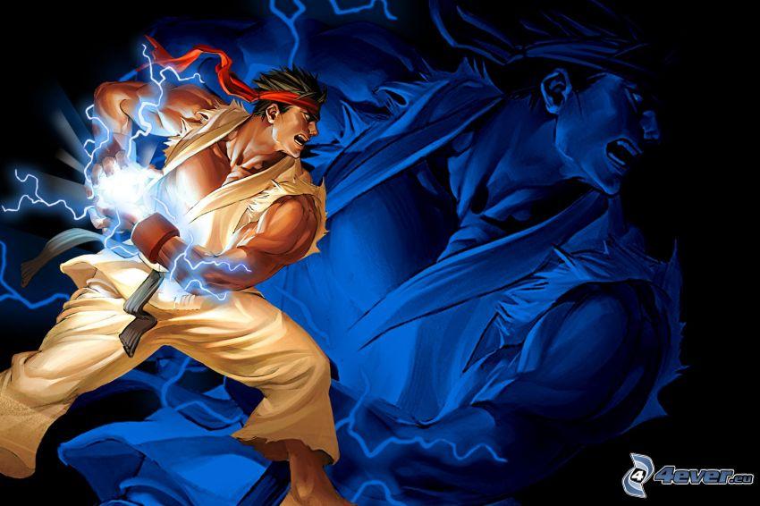 Street fighter, warrior