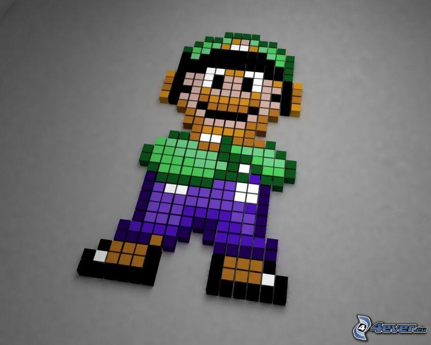 Super Mario, mosaic