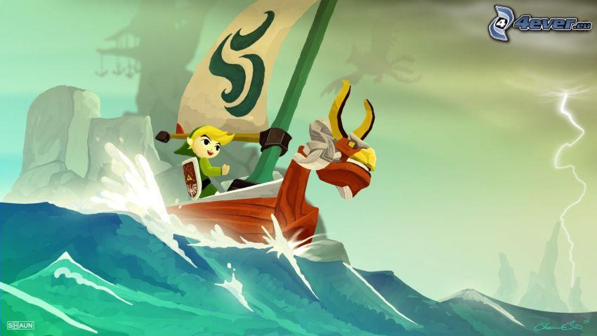The Legend of Zelda, sea