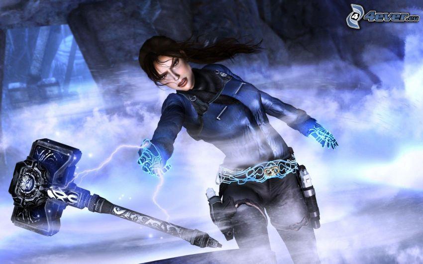 Tomb Raider, Thor's hammer