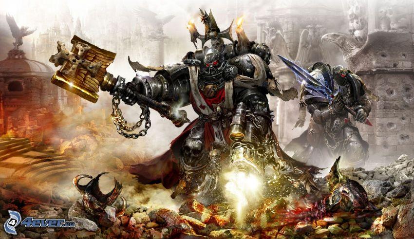 Warhammer, fantasy warrior