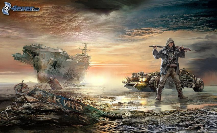 Wasteland 2, aircraft carrier