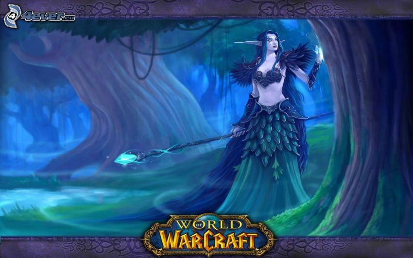 World of Warcraft, elf