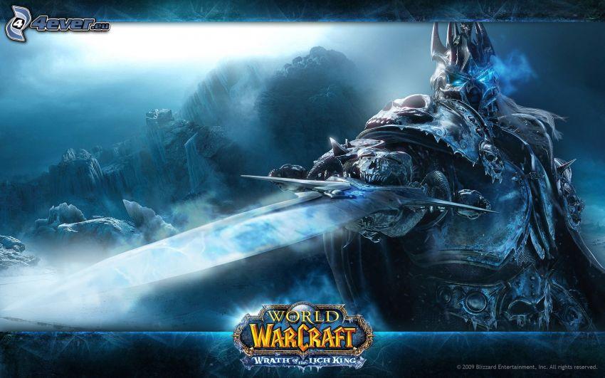 World of Warcraft, fantasy warrior