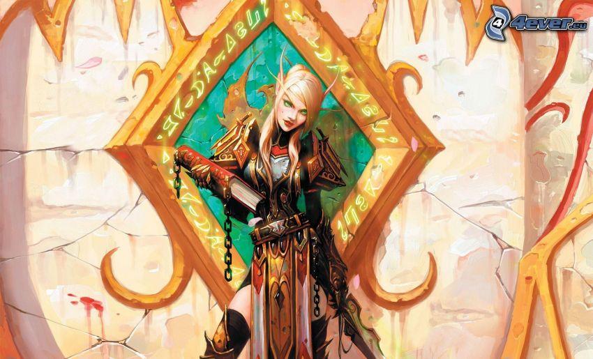 World of Warcraft, fantasy woman