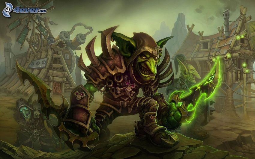 World of Warcraft, monster
