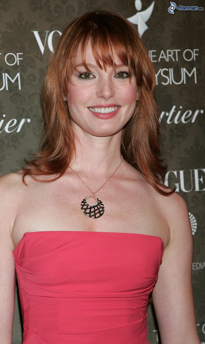 Alicia Witt, smile