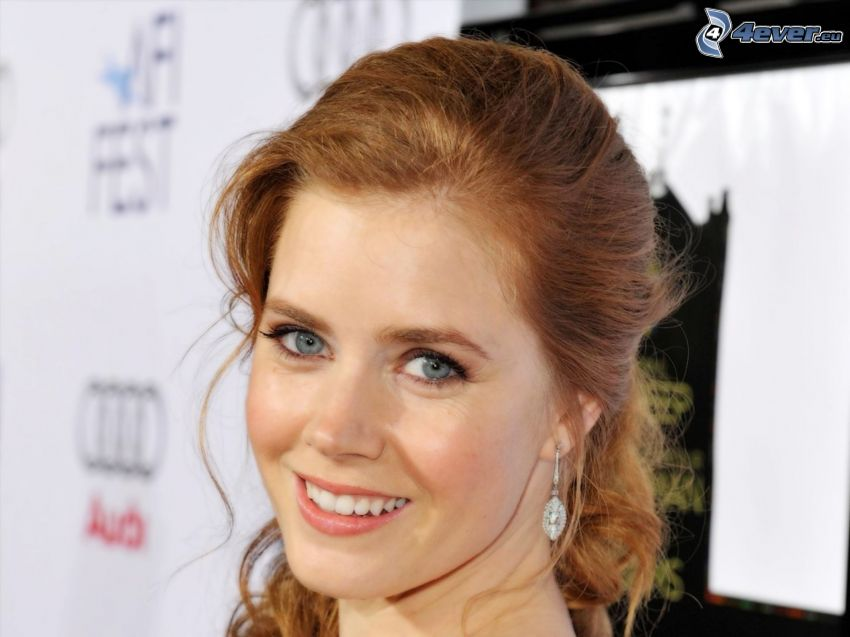 Amy Adams, smile