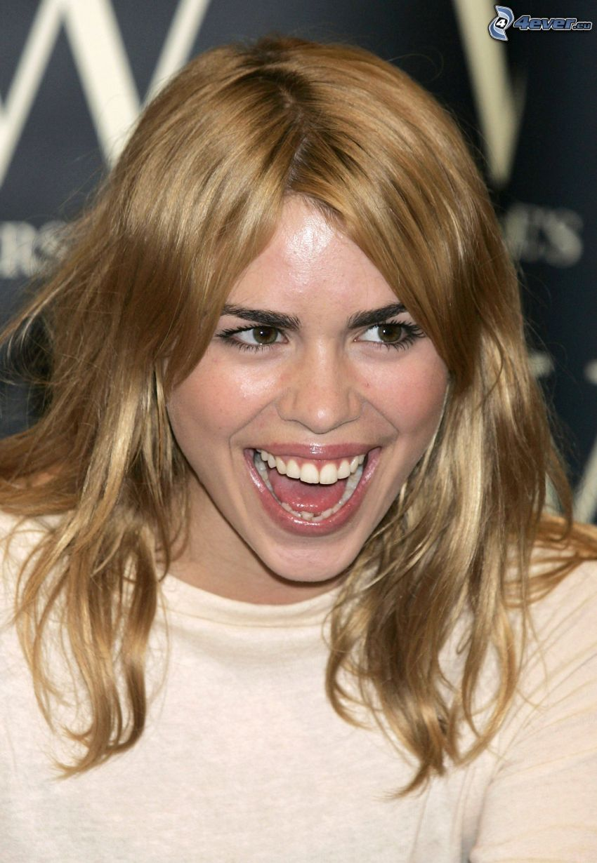 Billie Piper, laughter