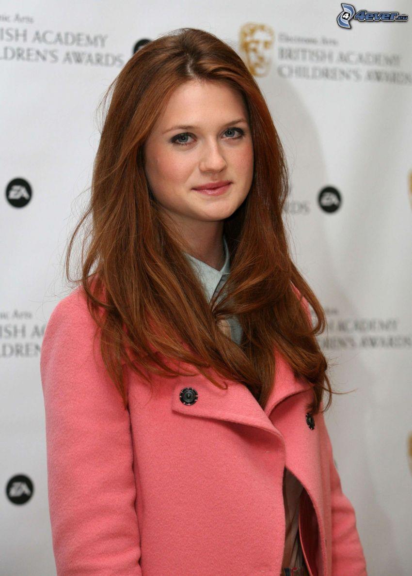 Bonnie Wright, coat