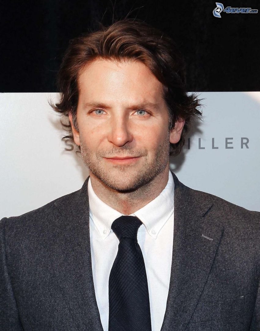 Bradley Cooper, man in suit, tie