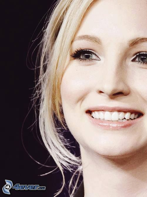 Candice Accola, smile, look