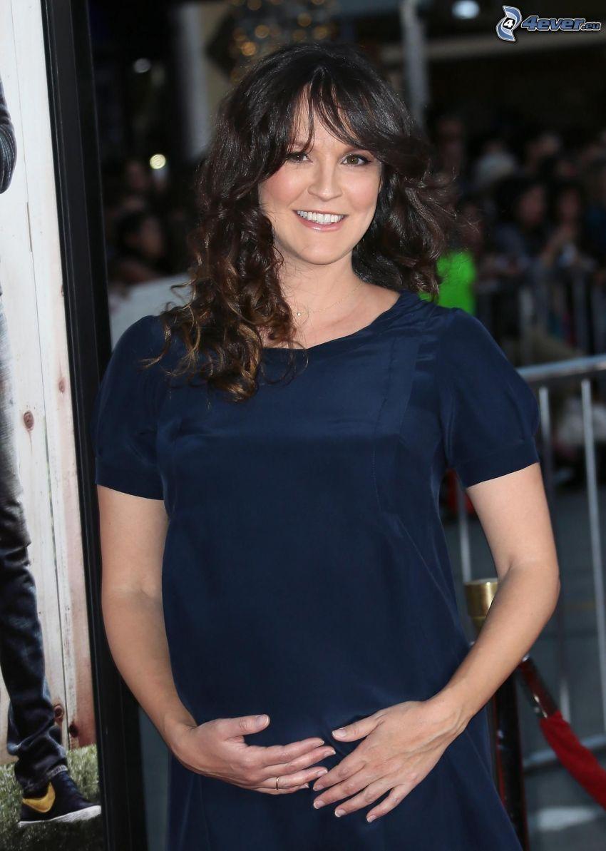 Carla Gallo, smile