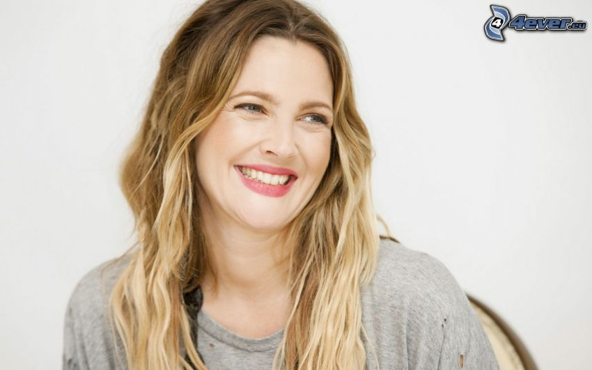 Drew Barrymore, laughter
