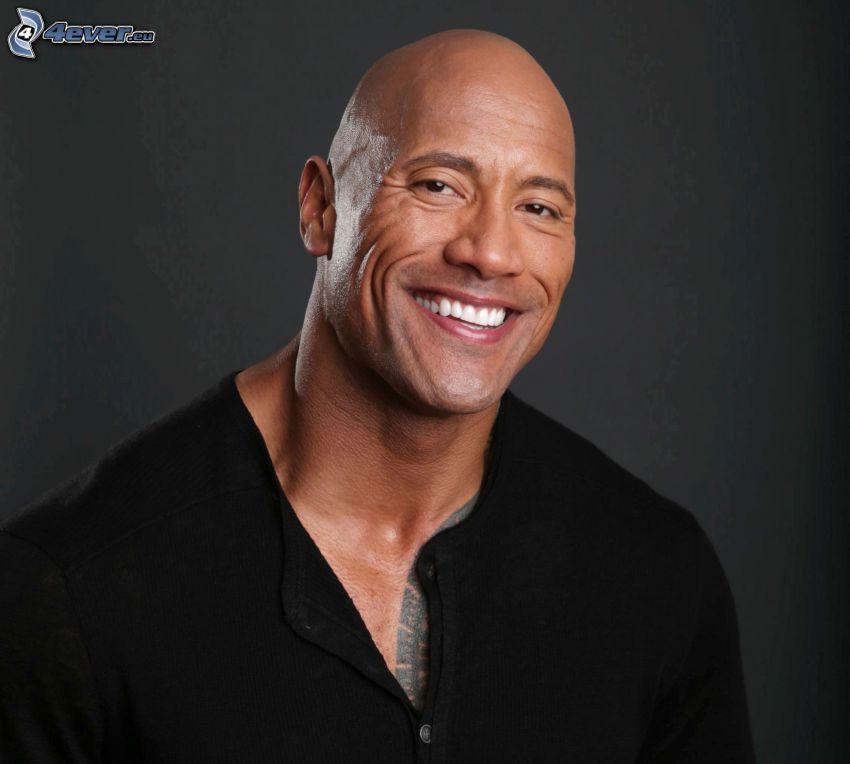 Dwayne Johnson, smile