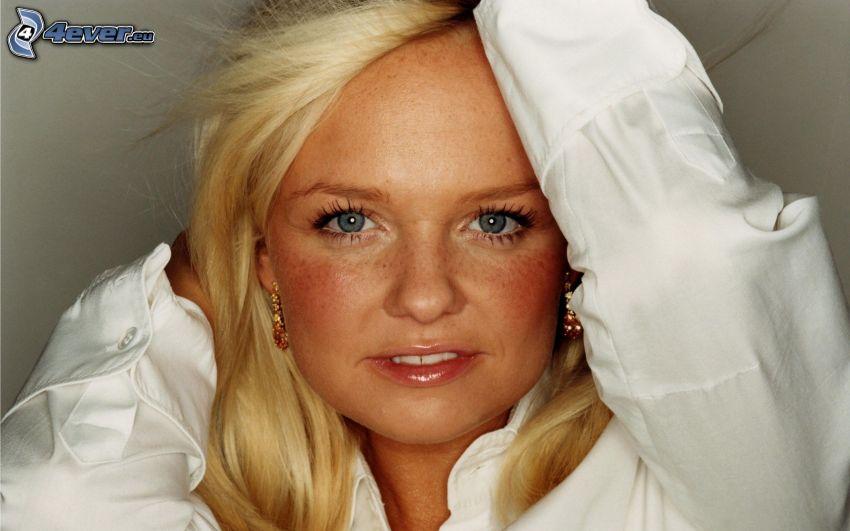 Emma Bunton, white shirt