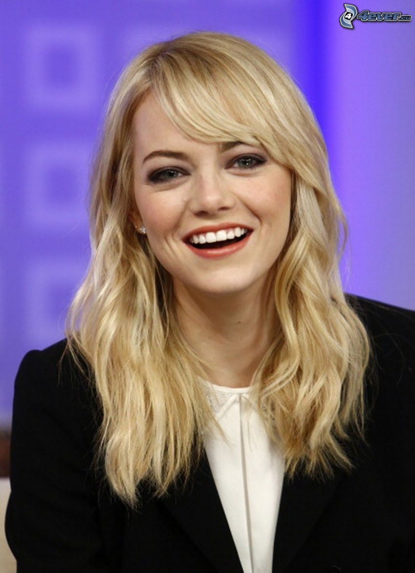 Emma Stone, laughter