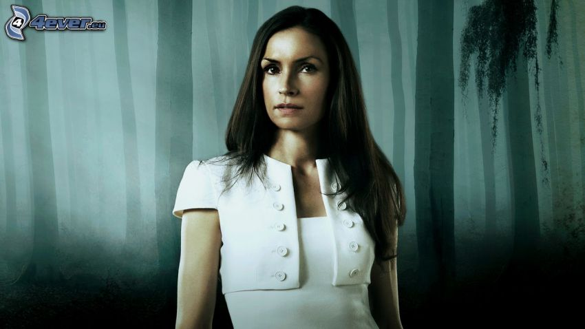 Famke Janssen, dark forest