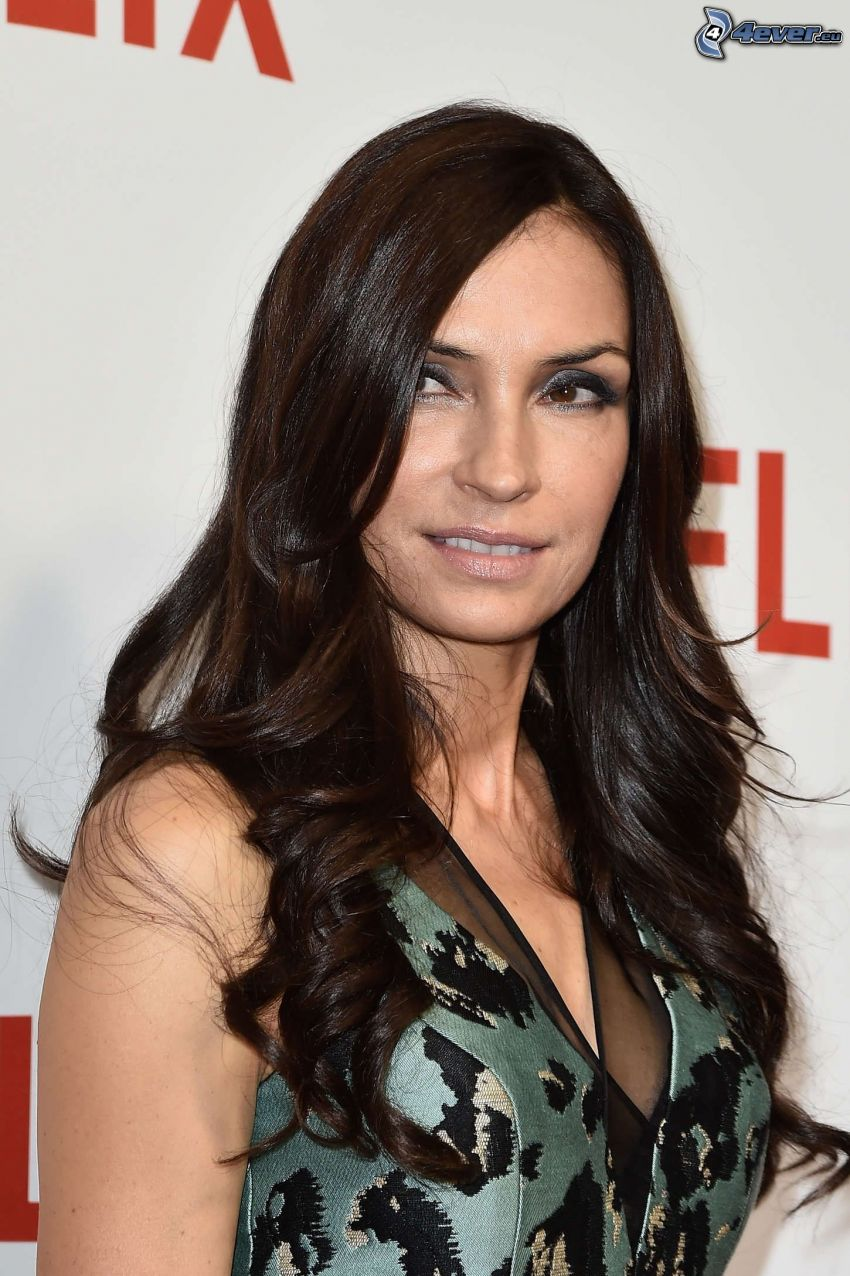 see through Cleavage Famke Janssen naked photo 2017