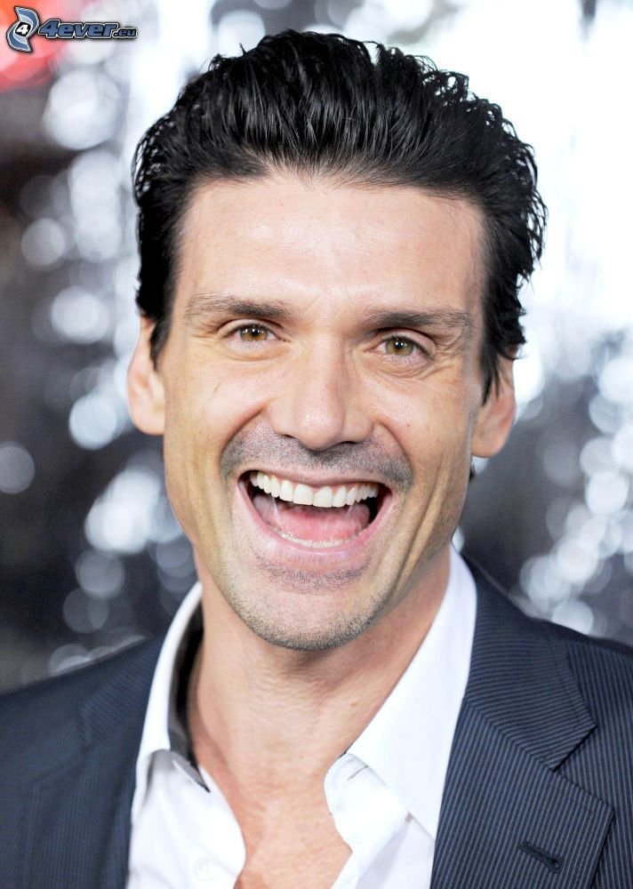 Frank Grillo, laughter