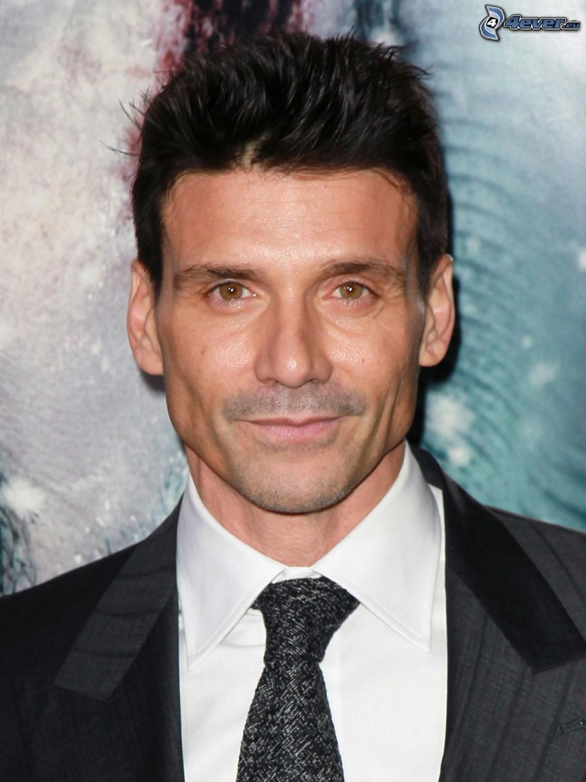 Frank Grillo, man in suit