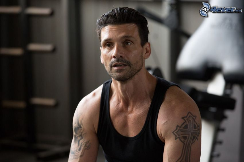 Frank Grillo, tattoo