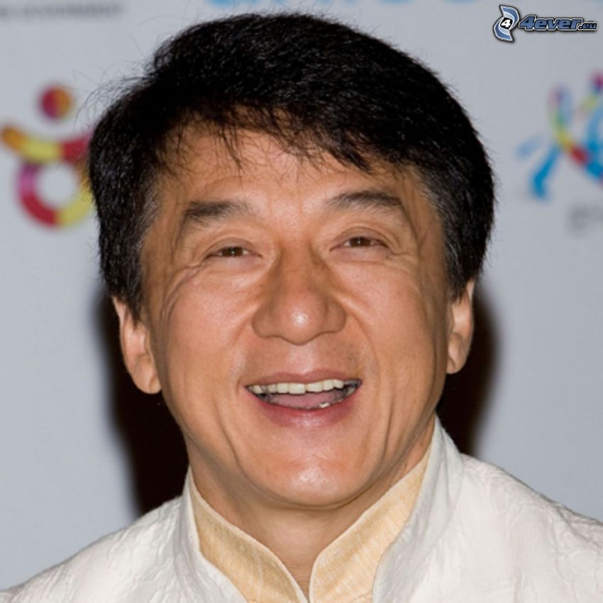 Jackie Chan, laughter