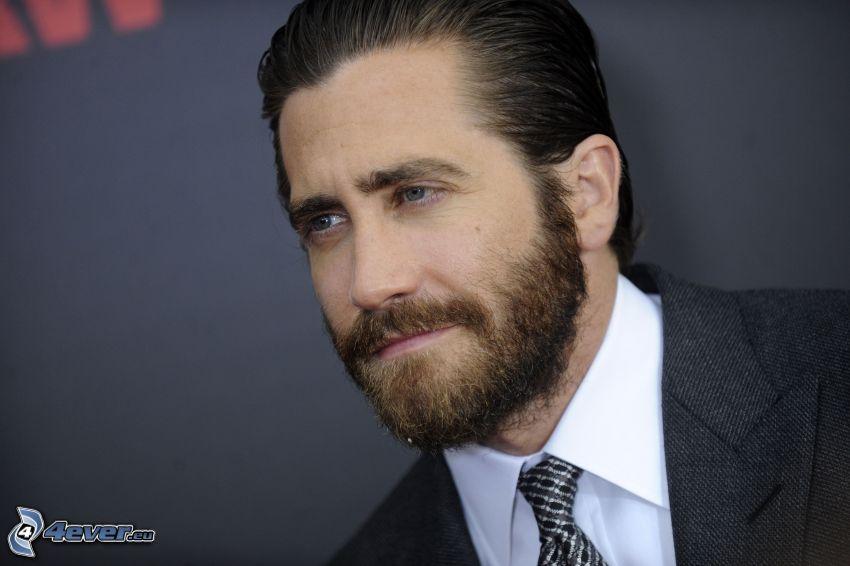 Jake Gyllenhaal, whiskers