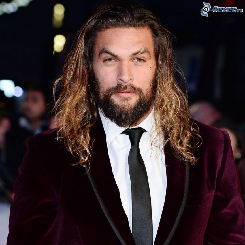 Jason Momoa, man in suit