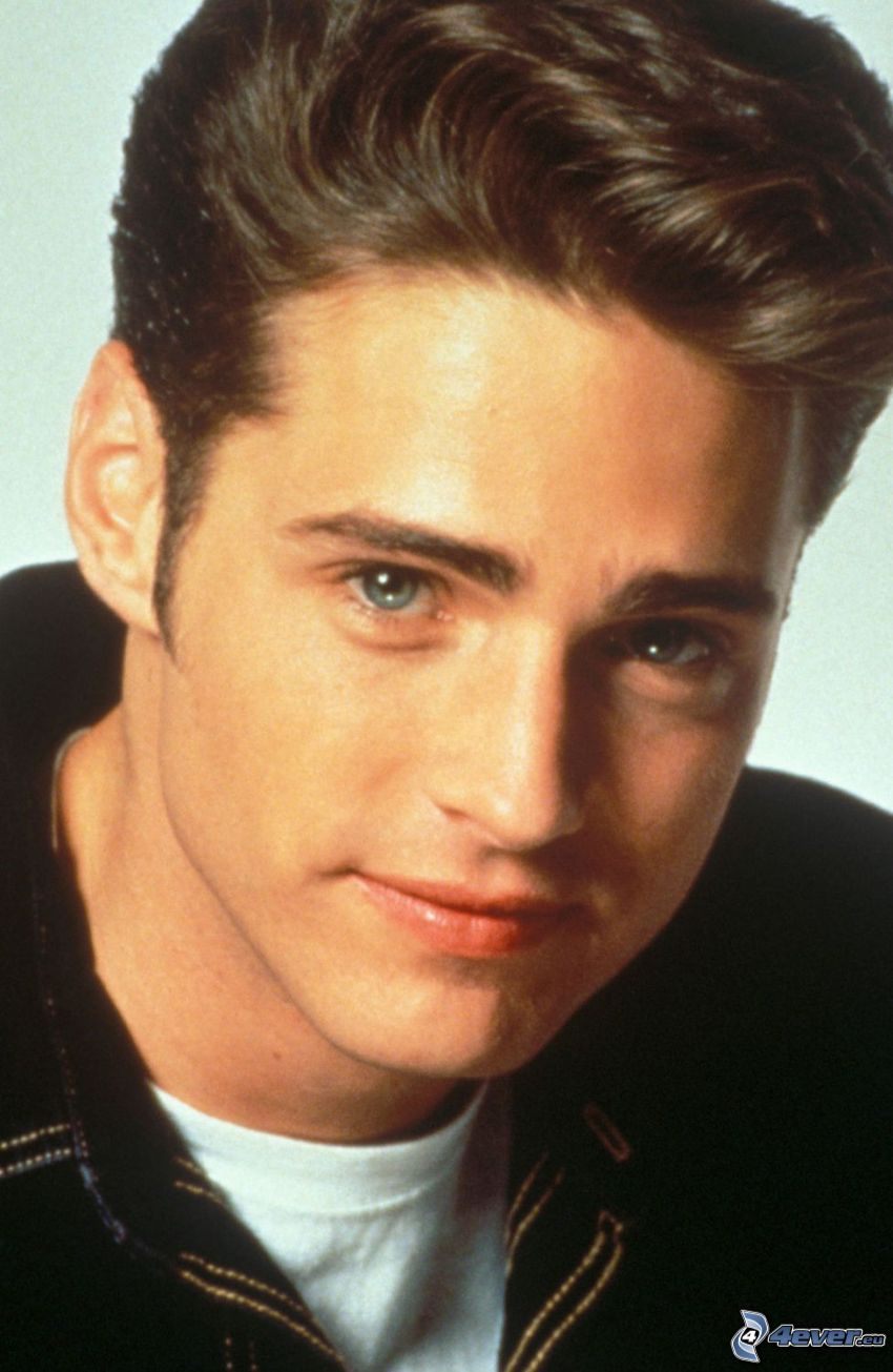 Jason Priestley, young