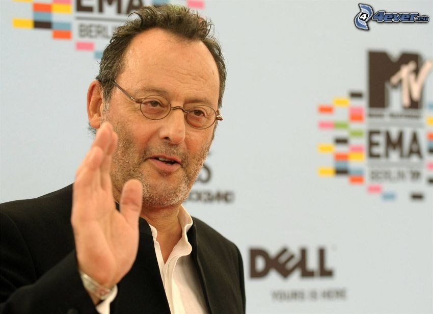 Jean Reno, greeting