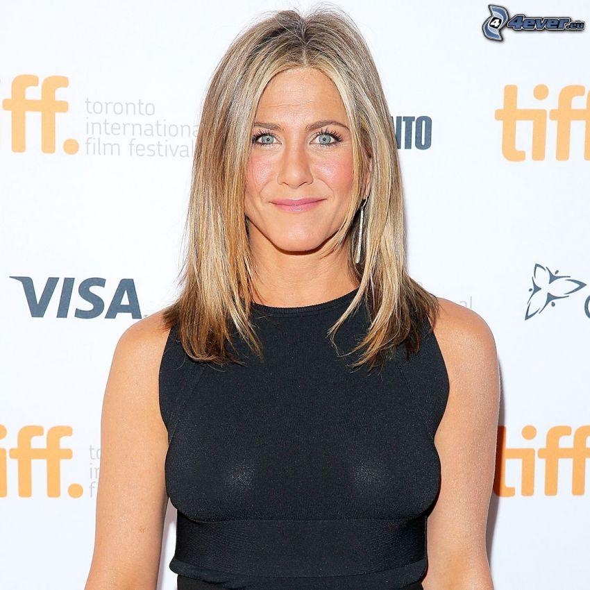 Jennifer Aniston, black dress
