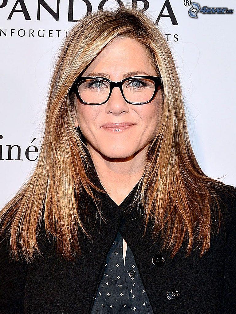 Jennifer Aniston, woman with glasses