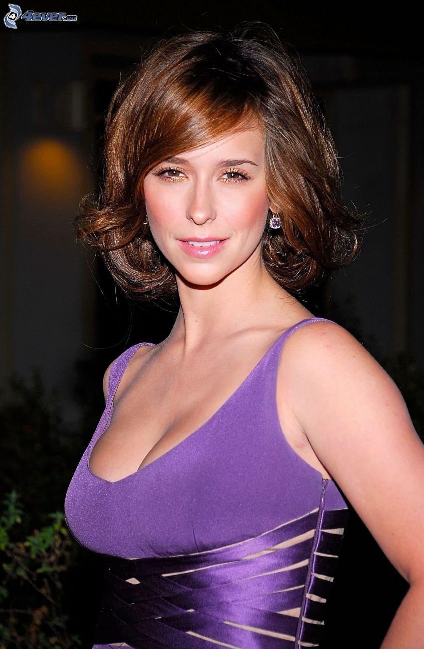 Jennifer Love Hewitt, purple dress