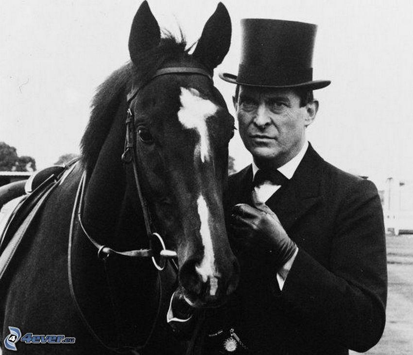 Jeremy Brett, horse