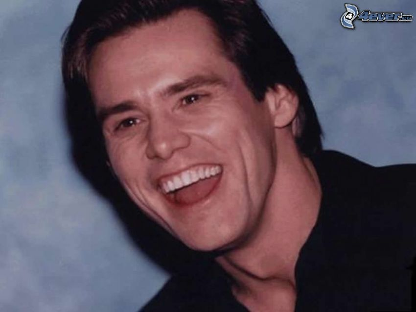 Jim Carrey, laughter