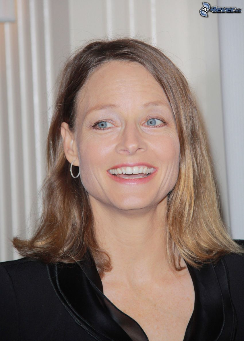 Jodie Foster, laughter