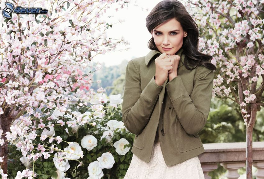 Katie Holmes, flowering trees