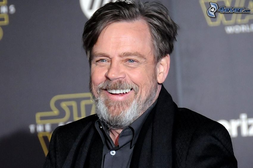 Mark Hamill, laughter