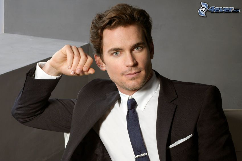 Matt Bomer, man in suit