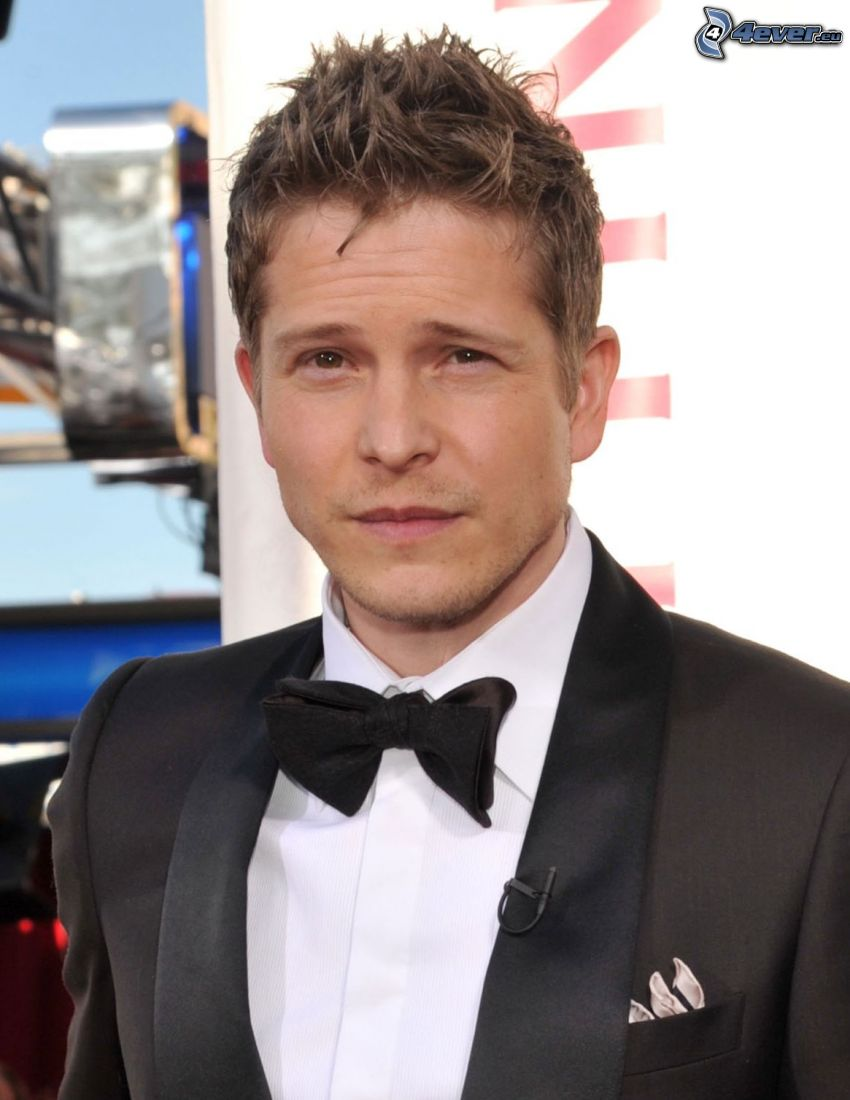 Matt Czuchry, man in suit, bow tie