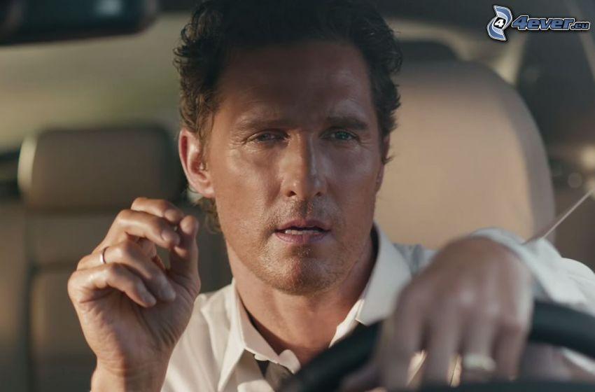 Matthew McConaughey, car