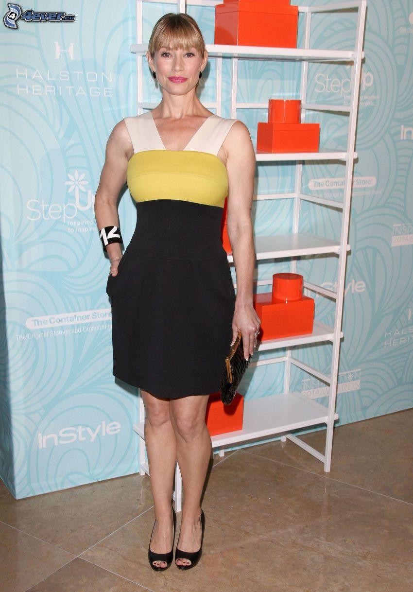 Meredith Monroe, black dress