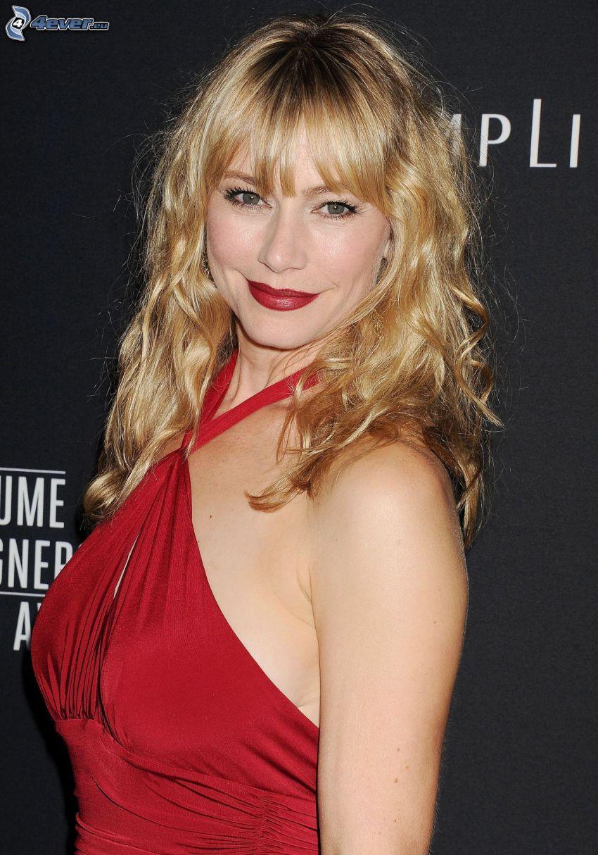 Meredith Monroe, red dress
