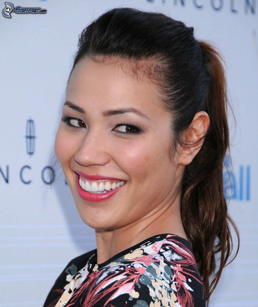 Michaela Conlin, smile