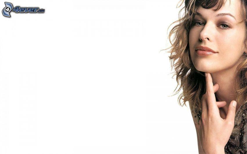 Milla Jovovich, model