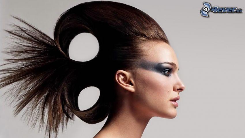 Natalie Portman, haircut