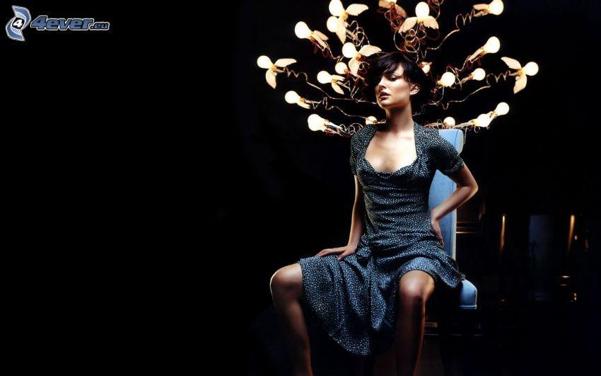 Natalie Portman, lights